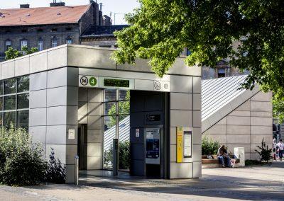 Tolnai Residence -M4 metro II. János Pál pápa tér