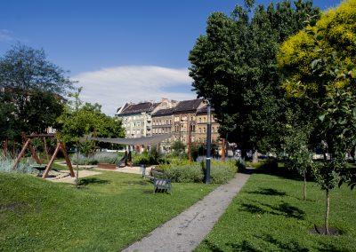 Tolnai Residence -Teleki tér park